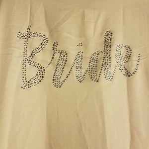 Victoria Secret Bride collection white short robe